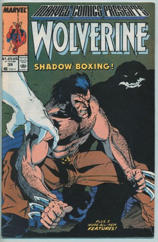 Marvel Comics Presents Wolverine Vol. 2 Cover