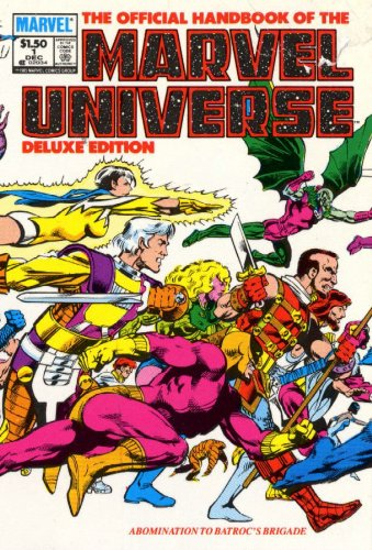 Essential Official Handbook Of The Marvel Universe Deluxe Edition Vol. 1  Cover