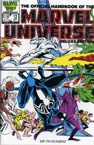 Essential Official Handbook Of The Marvel Universe Deluxe Edition Vol. 2  Cover