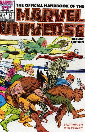 Essential Official Handbook Of The Marvel Universe Deluxe Edition Vol. 3  Cover
