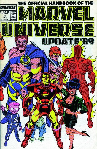 Essential Official Handbook Of The Marvel Universe Update '89 Vol. 1  Cover