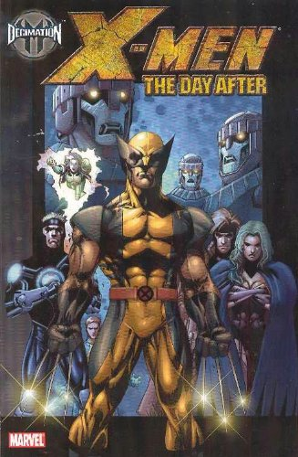 Decimation: X-Men: The Day After Cover