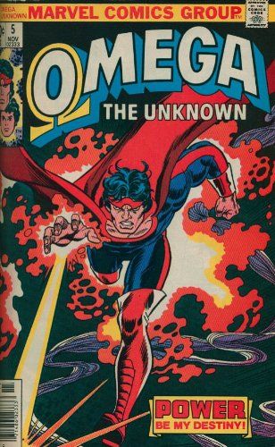 Omega The Unknown Classic Cover