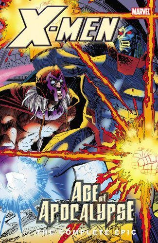 X-Men: Age Of Apocalypse: The Complete Epic Book 4 Cover