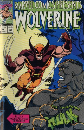 Marvel Comics Presents Wolverine Vol. 3 Cover