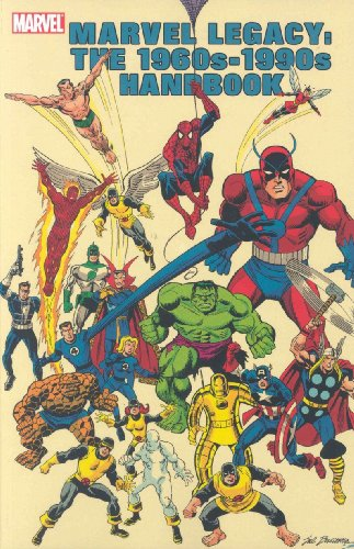 Marvel Legacy: The 1960s-1990s Handbook Cover