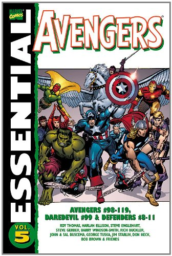 Essential Avengers Vol. 5 Cover