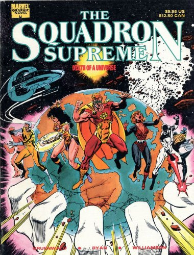 Squadron Supreme: Death Of A Universe Cover