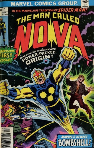 Essential Nova Vol. 1  Cover