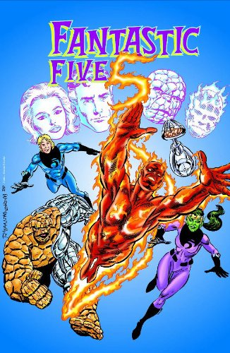 Fantastic Five: In Search Of Doom Cover
