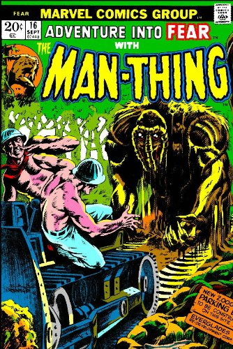 Essential Man-Thing Vol. 1 Cover