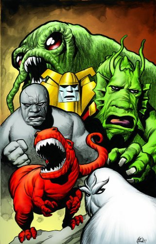 Marvel Monsters Cover
