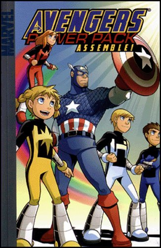 Avengers And Power Pack: Assemble! Cover