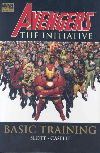 Avengers: The Initiative Vol. 1: Basic Training Cover