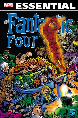 Essential Fantastic Four Vol. 5 Cover