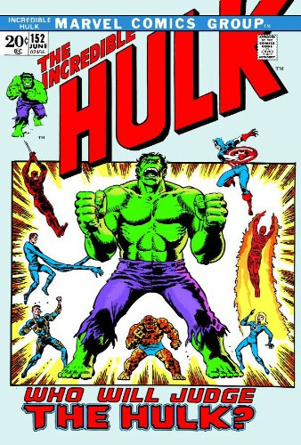 Essential Incredible Hulk Vol. 4 Cover