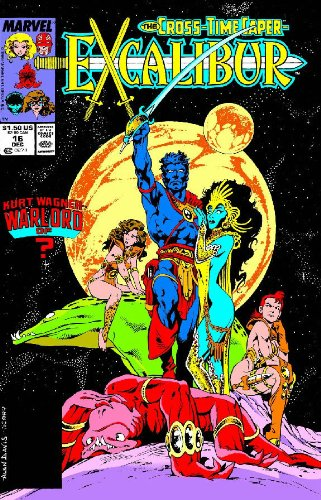 Excalibur Classic Vol. 3: Cross Time Caper Book 1 Cover