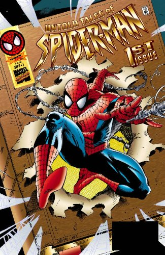 Spider-Man Visionaries: Kurt Busiek Cover