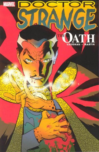 Doctor Strange: The Oath Cover