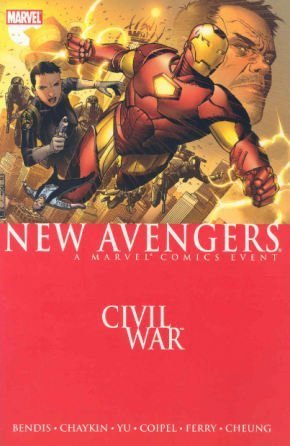 New Avengers Vol. 5: Civil War Cover