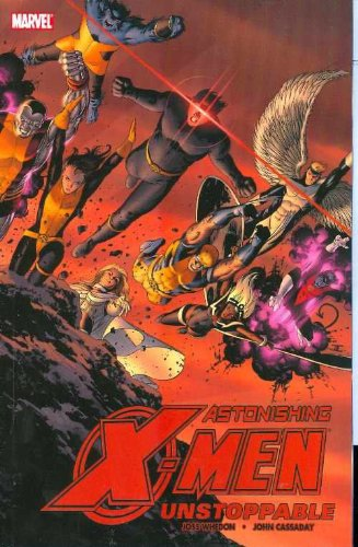 Astonishing X-Men Vol. 4: Unstoppable Cover