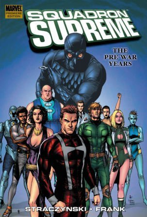 Squadron Supreme: The Pre-War Years Cover