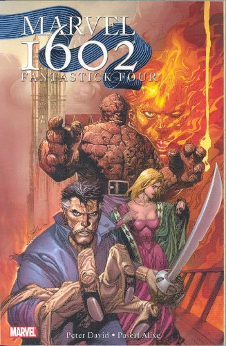 Marvel 1602: Fantastick Four Cover