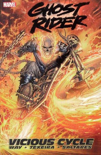 Ghost Rider Vol. 1: Vicious Cycle Cover