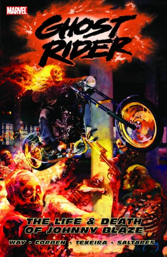 Ghost Rider Vol. 2: The Life And Death Of Johnny Blaze Cover