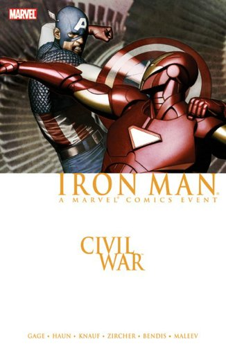 Civil War: Iron Man Cover