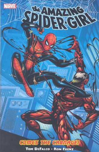 Spider-Girl Vol. 2: Comes The Carnage Cover