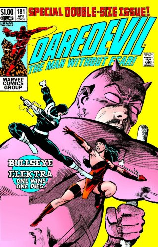 Daredevil by Frank Miller And Klaus Janson Omnibus Cover