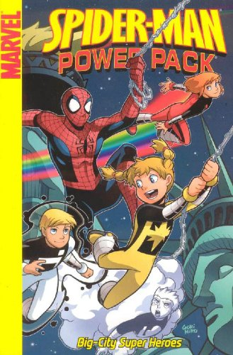 Spider-Man And Power Pack Cover