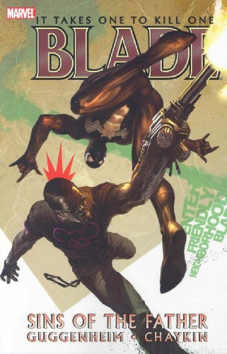 Blade Vol. 2: Sins Of The Father Cover
