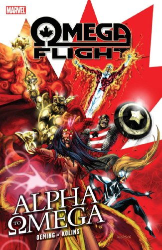 Omega Flight: Alpha To Omega Cover