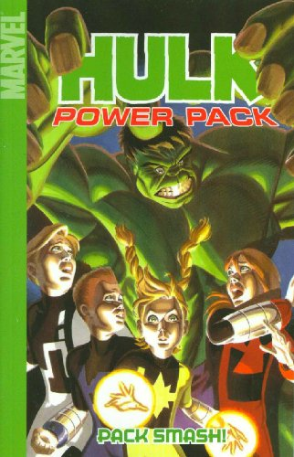 Hulk And Power Pack: Pack Smash! Cover