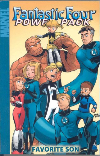 Fantastic Four And Power Pack: Favorite Son Cover