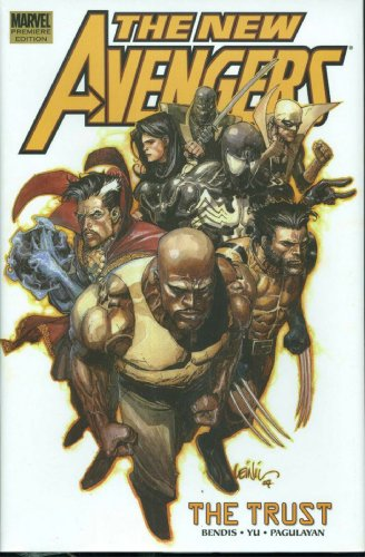 New Avengers Vol. 7: The Trust Cover