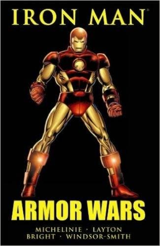 Iron Man: Armor Wars Cover