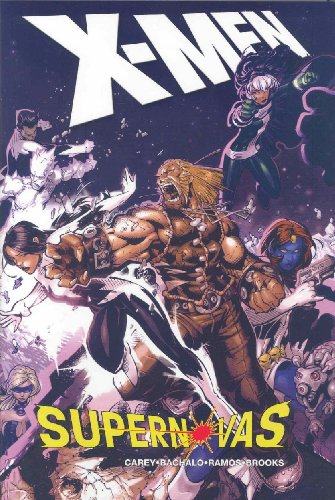 X-Men: Supernovas Cover