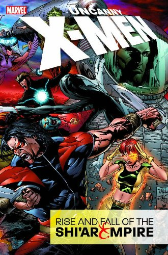 Uncanny X-Men: Rise And Fall Of The Shi'ar Empire Cover