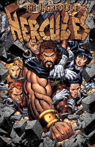 Incredible Hercules Against the World cover
