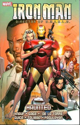 Iron Man: Haunted Cover