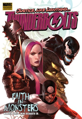 Thunderbolts: Faith In Monsters Cover