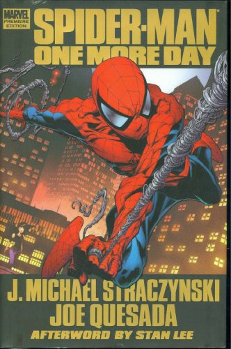 Spider-Man: One More Day Cover