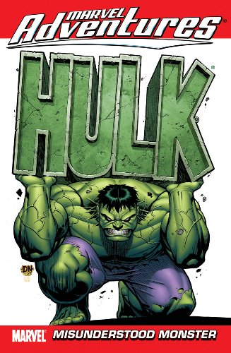 Marvel Adventures Hulk Vol. 1: Misunderstood Monster Cover