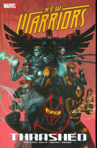 New Warriors: Thrashed Cover
