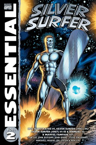 Essential Silver Surfer Vol. 2  Cover