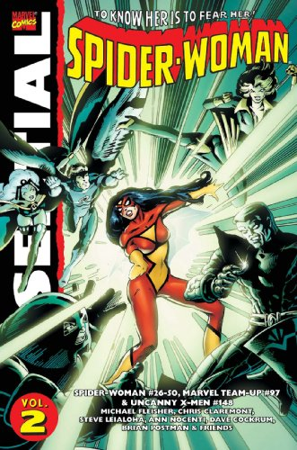 Essential Spider-Woman Vol. 2  Cover