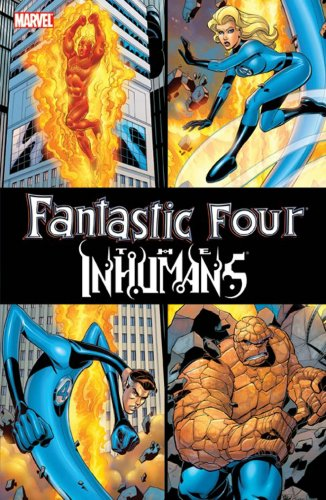 Fantastic Four / The Inhumans Cover